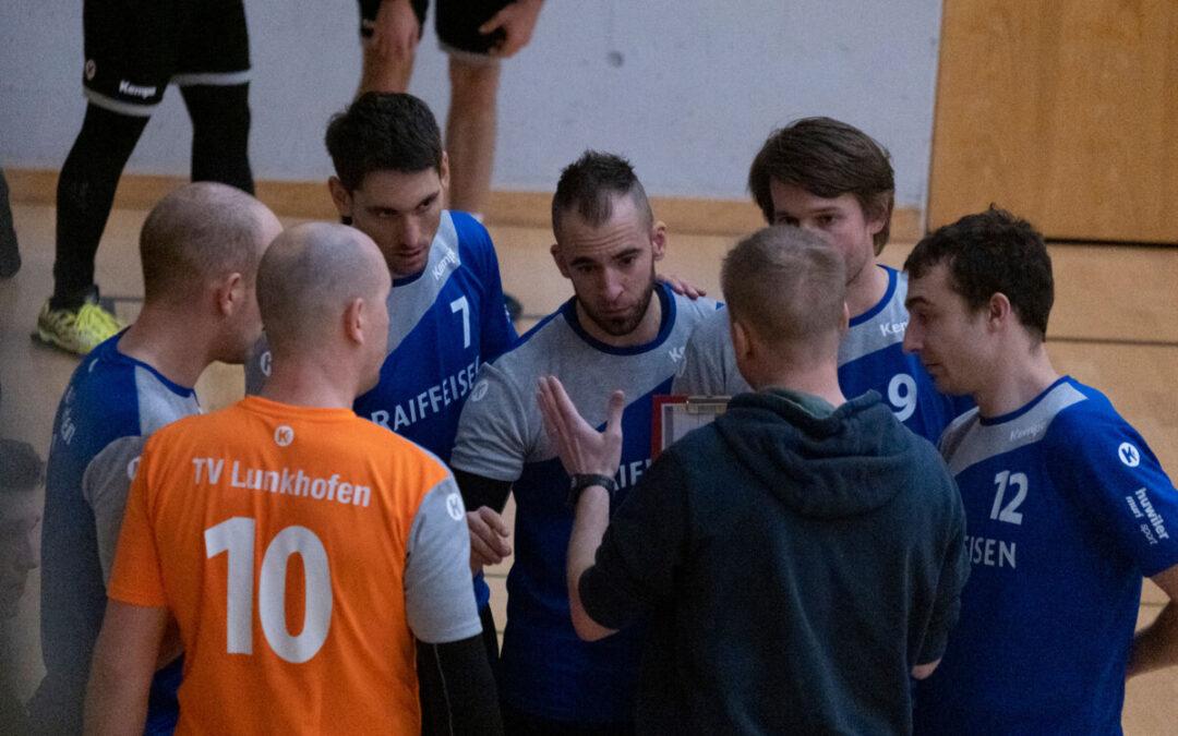 Erstes Heimspiel für die erste Mannschaft des TV Lunkhofen