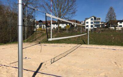 Beachfeld bereit für den Beachsommer